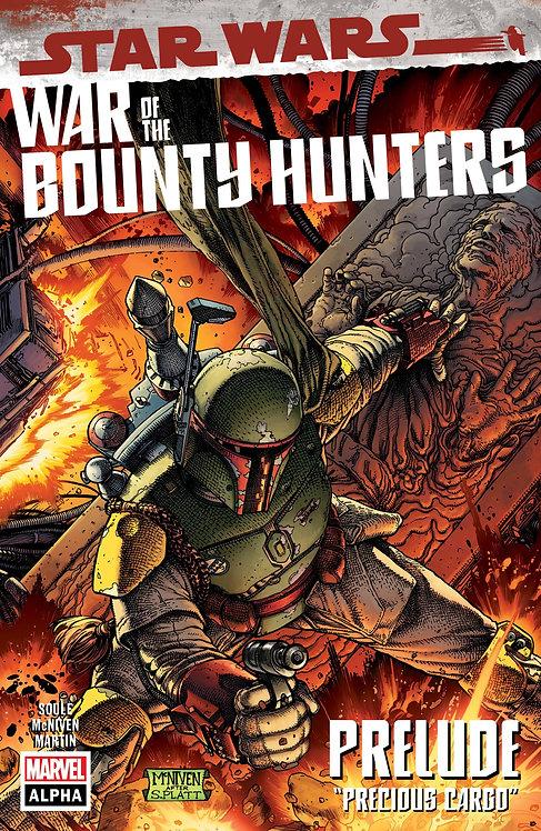 STAR WARS WAR BOUNTY HUNTERS ALPHA #1