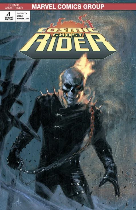 COSMIC GHOST RIDER #1 GABRIELE DELL'OTTO EXCLUSIVE