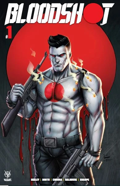 BLOODSHOT #1 RYAN KINCAID NYCC EXCLUSIVE LIMITED TO 400