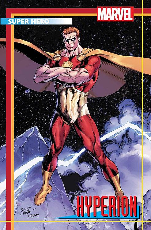 HEROES REBORN #2 (OF 7) BAGLEY TRADING CARD VAR (05/12/21)