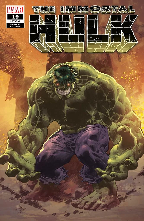 IMMORTAL HULK #19 MIKE DEODATO EXCLUSIVE COVER A