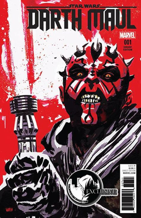 DARTH MAUL #1 WALSH EXCLUSIVE