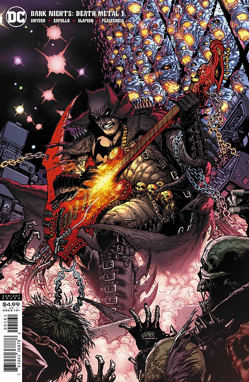 DARK NIGHTS DEATH METAL #1 1:25 DOUG MAHNKE