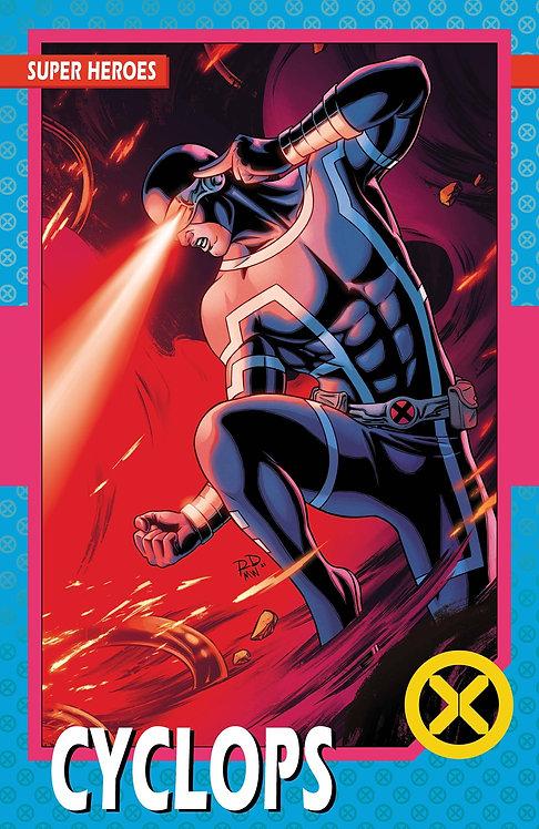 X-MEN #1 NEW LINE UP TRADING CARD VAR