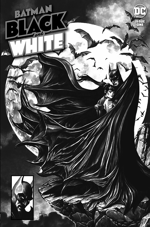 BATMAN: BLACK & WHITE #1 MICO SUAYAN (12/08/20)