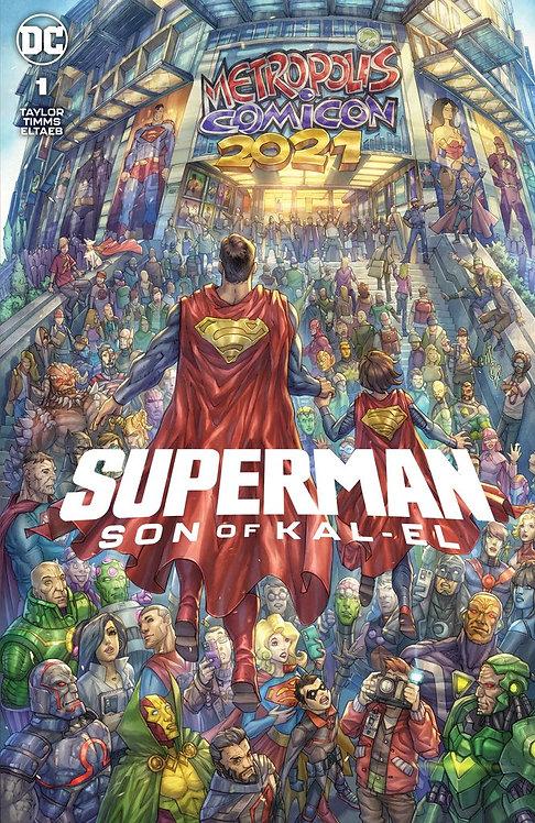 SUPERMAN : SON OF KAL-EL #1 ALAN QUAH EXCLUSIVE