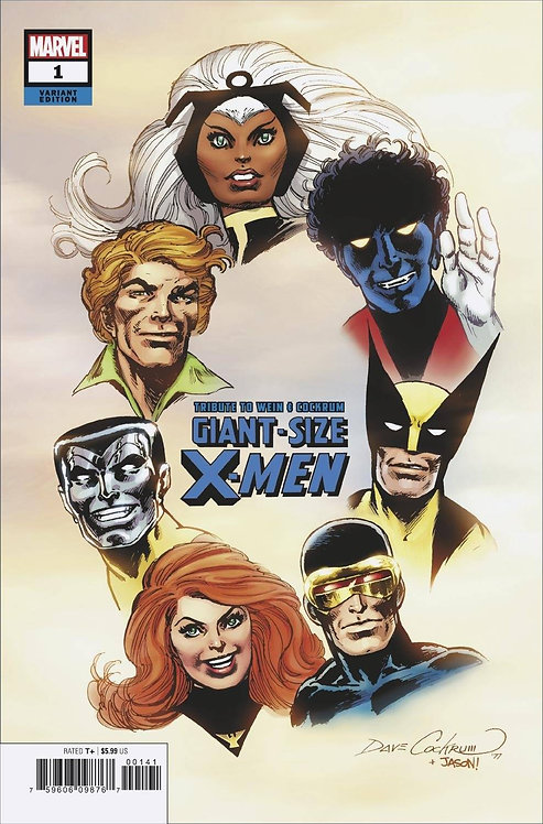 GIANT SIZE X-MEN TRIBUTE WEIN COCKRUM #1 HIDDEN GEM VAR