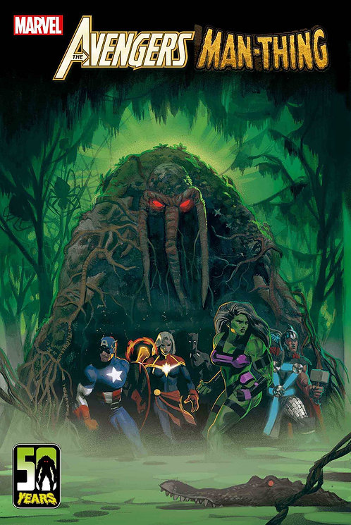 AVENGERS CURSE MAN-THING #1 (03/31/2021)