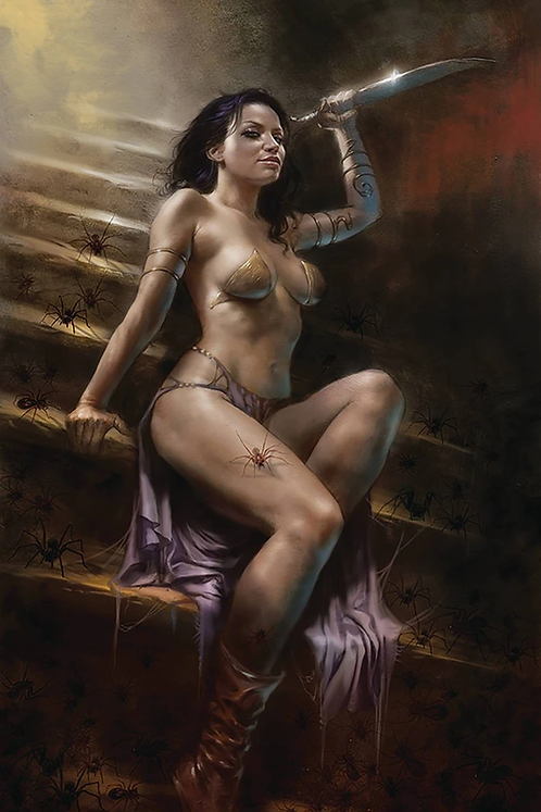 DEJAH THORIS VOL.03 #4 PARRILLO LTD VIRGIN COVER