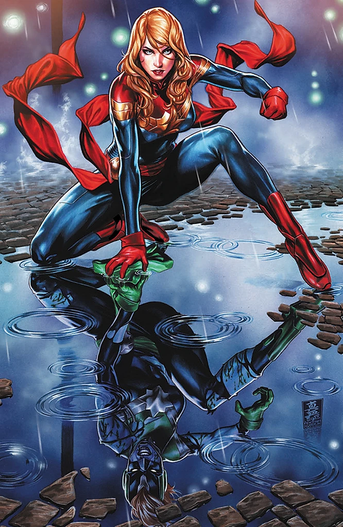CAPTAIN MARVEL #9 MARK BROOKS VIRGIN EXCLUSIVE