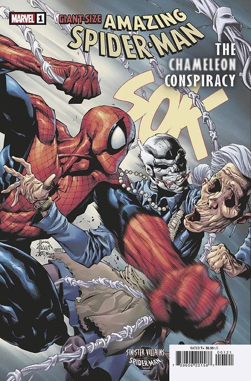 GIANT-SIZE AMAZING SPIDER-MAN CHAMELEON CONSPIRACY #1 VAR