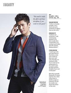 ELLE NOV 2015 Featuring Elvin Ng
