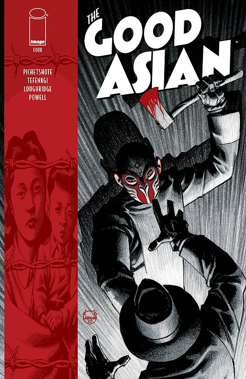 GOOD ASIAN #4 (OF 10) CVR A JOHNSON (MR)