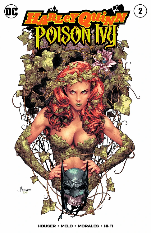 HARLEY QUINN & POISON IVY #2 JAY ANACLETO EXCLUSIVE