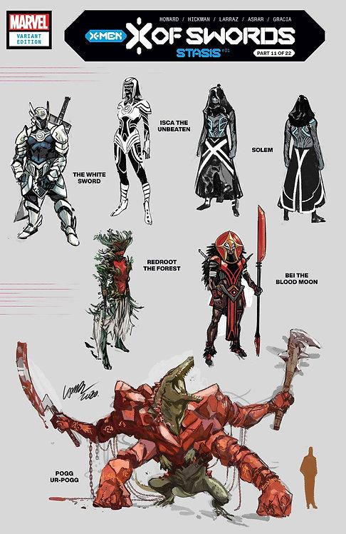 X OF SWORDS STASIS #1 LARRAZ DESIGN VAR