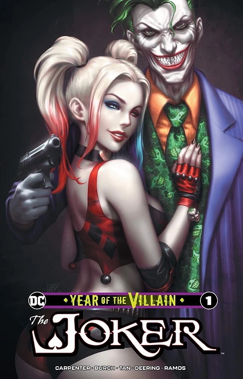 JOKER YEAR OF THE VILLIAN #1 KENDRICK LIM (KUNKA) - LIMITED TO 3000