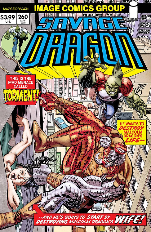SAVAGE DRAGON #260 CVR B RETRO 70S TRADE DRESS (MR) (05/19/21)