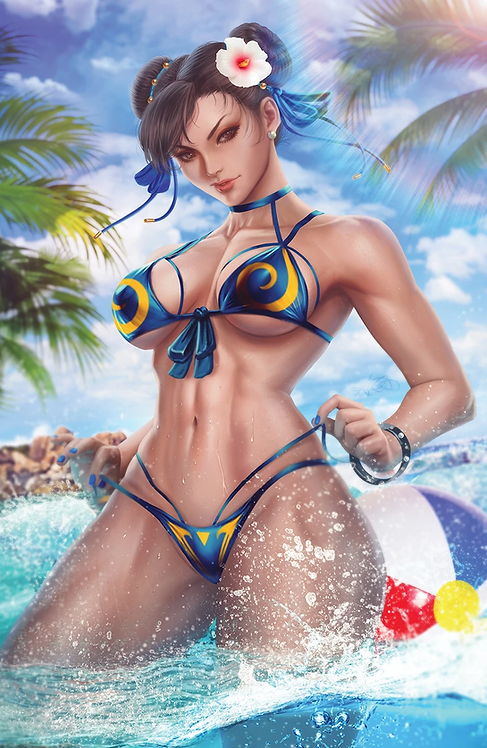 STREET FIGHTER SCI FI AND FANTASY #1 ARIEL DIAZ - LIMITED TO 400 W CO