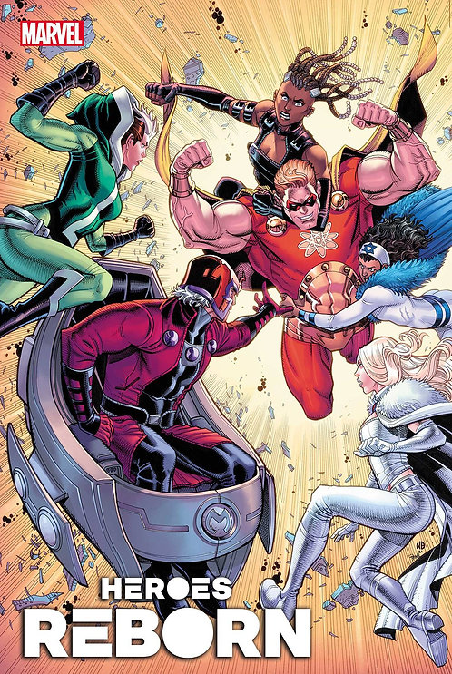 HEROES REBORN MAGNETO AND MUTANT FORCE #1 (05/05/21)
