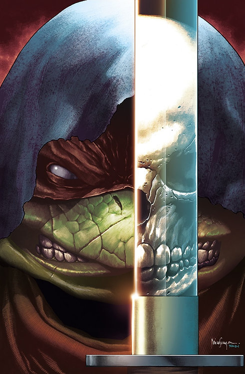 TMNT THE LAST RONIN #1 MICO SUAYAN EXCLUSIVE VIR VAR - LIMITED TO 800 (10/28/20)