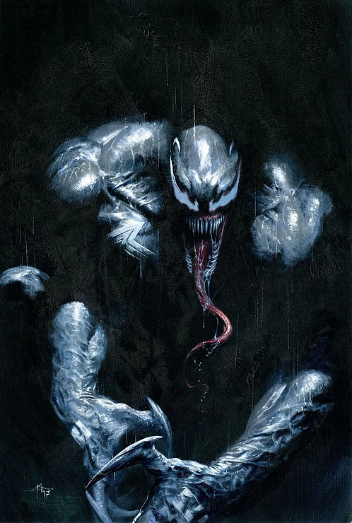 AMAZING SPIDER-MAN : VENOM INC OMEGA #1 GABRIELE DELL'OTTO VIRGIN VARIANT