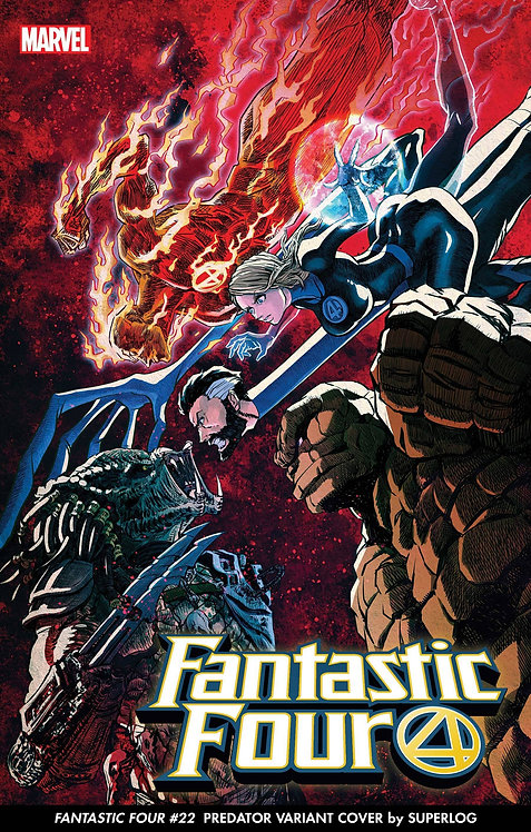 FANTASTIC FOUR #32 SUPERLOG PREDATOR VAR (05/12/21)