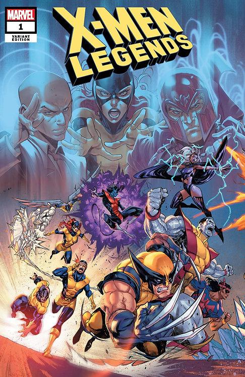 X-MEN LEGENDS #1 COELLO CONNECTED VAR
