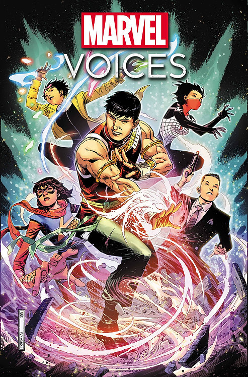 MARVELS VOICES IDENTITY #1