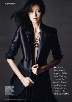 The Singapore Women's Weekly ft Sheila Sim沈琳宸