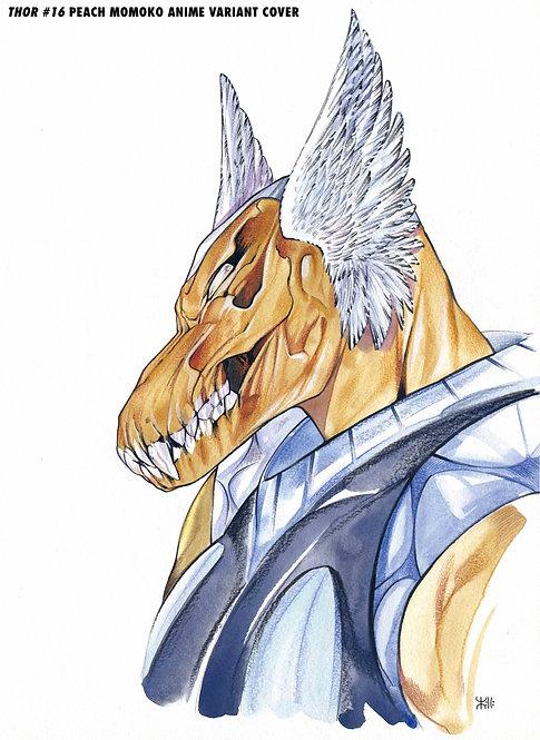 THOR #16 MOMOKO MARVEL ANIME VAR
