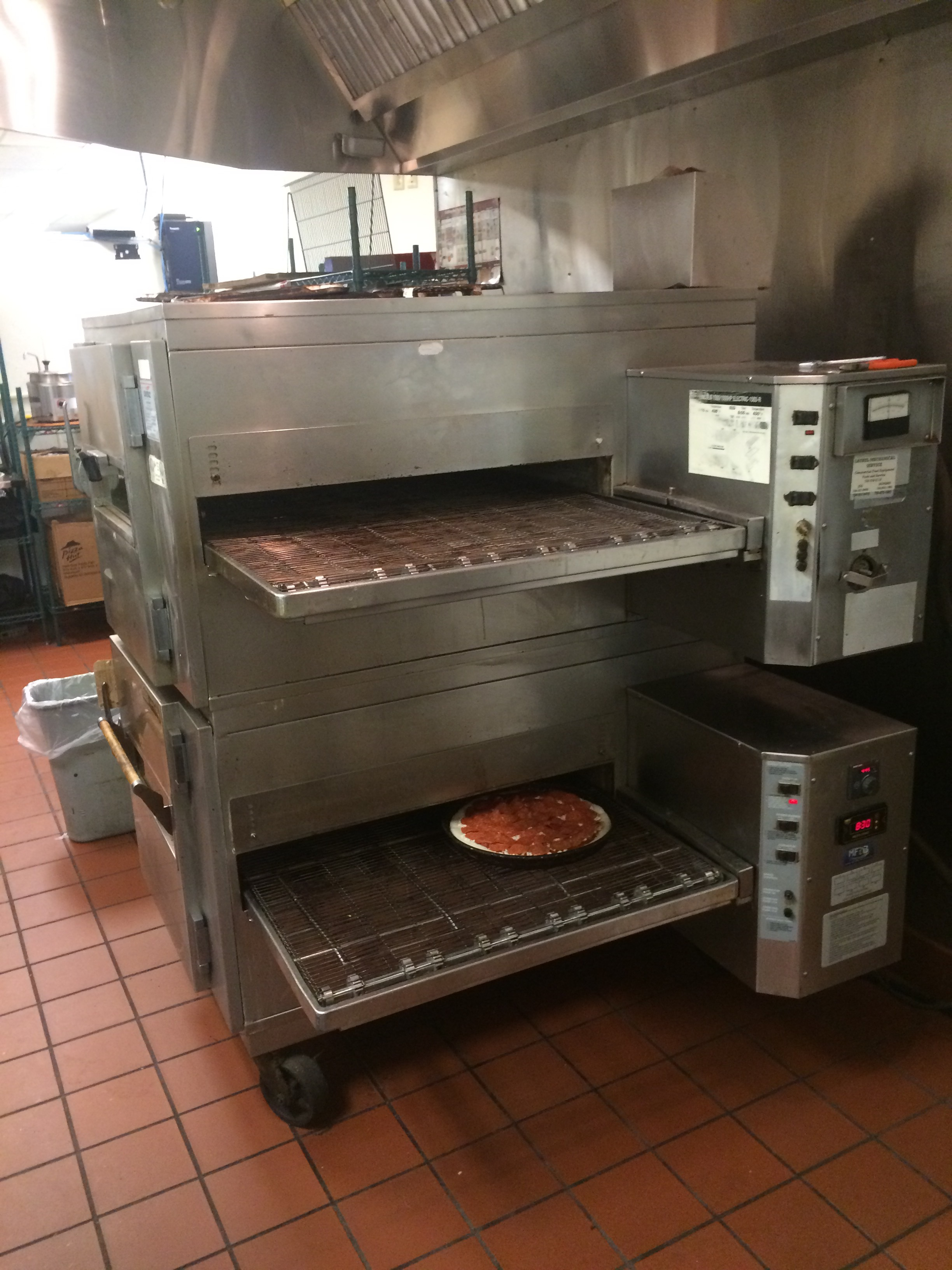 Pizza oven replacement