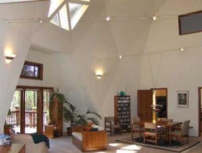 Geodesic Dome Interior