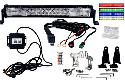 "RGB Series 32"" Dimmable/Colored LED Light Bar"