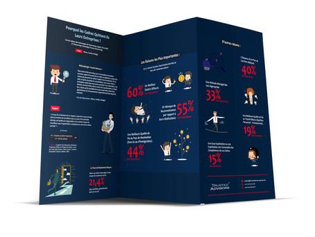 Infographie & Rapport Trusted Advisors: Pourquoi les Cadres Quittent-ils leurs Entreprises?