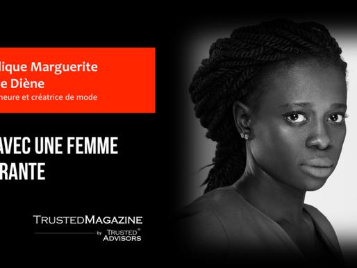 Q&R avec une femme inspirante: Angélique Marguerite Berthe Diène
