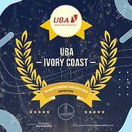 UBA Cote d'Ivoire - Distinction - Transf