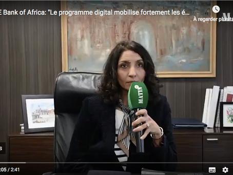 """LeMatin TV """"BMCE Bank of Africa: Le programme digital mobilise fortement les équipes"""""""