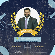 Amit Malhotra - Best Transformational CE