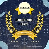 Bank Audi Egypt - Distinction - Transfor