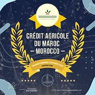 Crédit Agricole du Maroc - Distinction