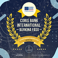 Coris Bank International - Distinction -