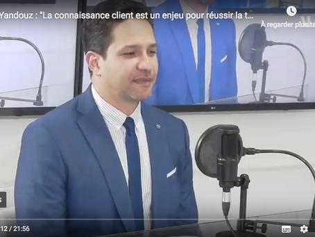 """LeMatinTV """"La connaissance client est un enjeu pour réussir la transformation des banques"""""""