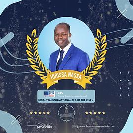 Mr Nassa Idrissa - Best Transformational