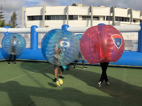 #BubbleFootballParty Supported By Trusted Advisors: #ClubGreatDebatersINPT