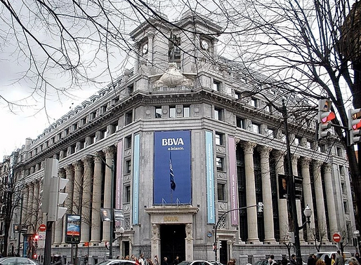 La transformation de la banque BBVA