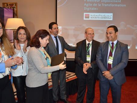 """Dépêche de l'Infomédiaire """"Banques Marocaines: Un Bon Point Digital"""""""