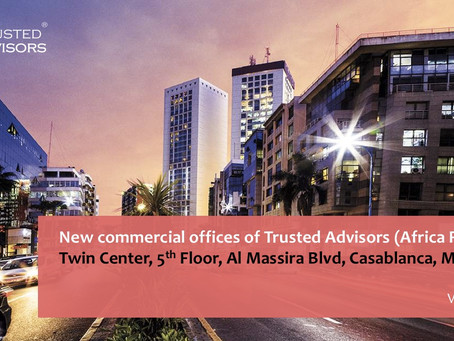 New commercial offices of Trusted Advisors (Africa Region)