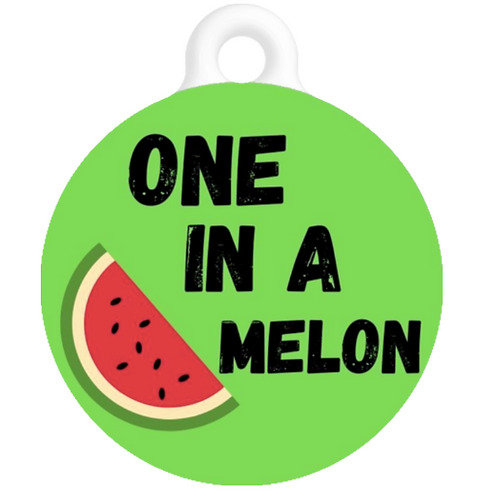 One In A Melon ID Tag