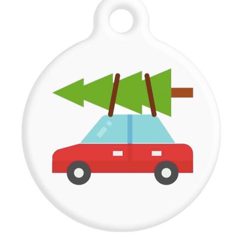 Christmas ID Tag