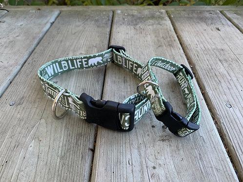 Wild Life Adjustable BBS Collar